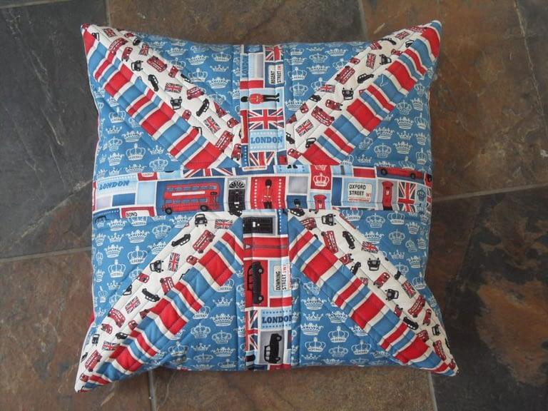 Union Flag cushion